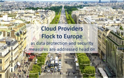 Cloud Cover takes over Europe