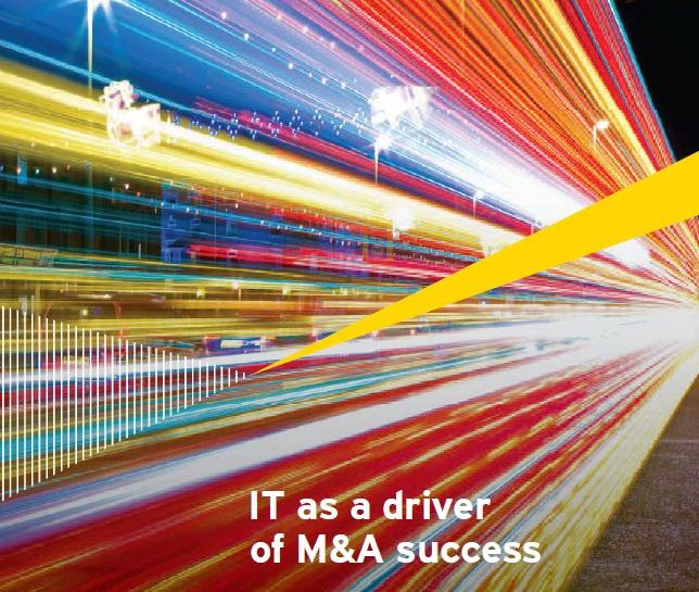 IT is a driver for M&A success