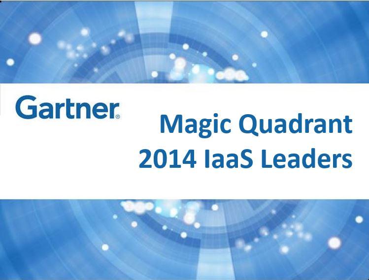 Gartner's IaaS Magic Quadrant 2014