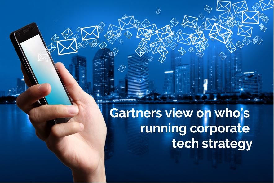 Whos running corporate tech strategy